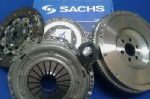 TOYOTA RAV 4 SACHS CLUTCH & COMPLETE FLYWHEEL WITH NEW FLYWHEEL & CLUTCH BOLTS